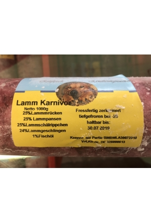 BARF AND MORE  Lamm Carnivor Premium