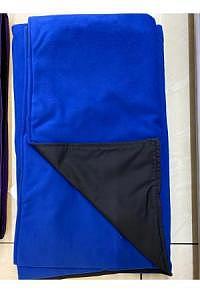Chillydogs Alpin Decke Schwarz/Blau Microfleece