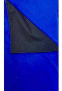 Chillydogs Alpin Decke Schwarz/Blau Microfleece_1